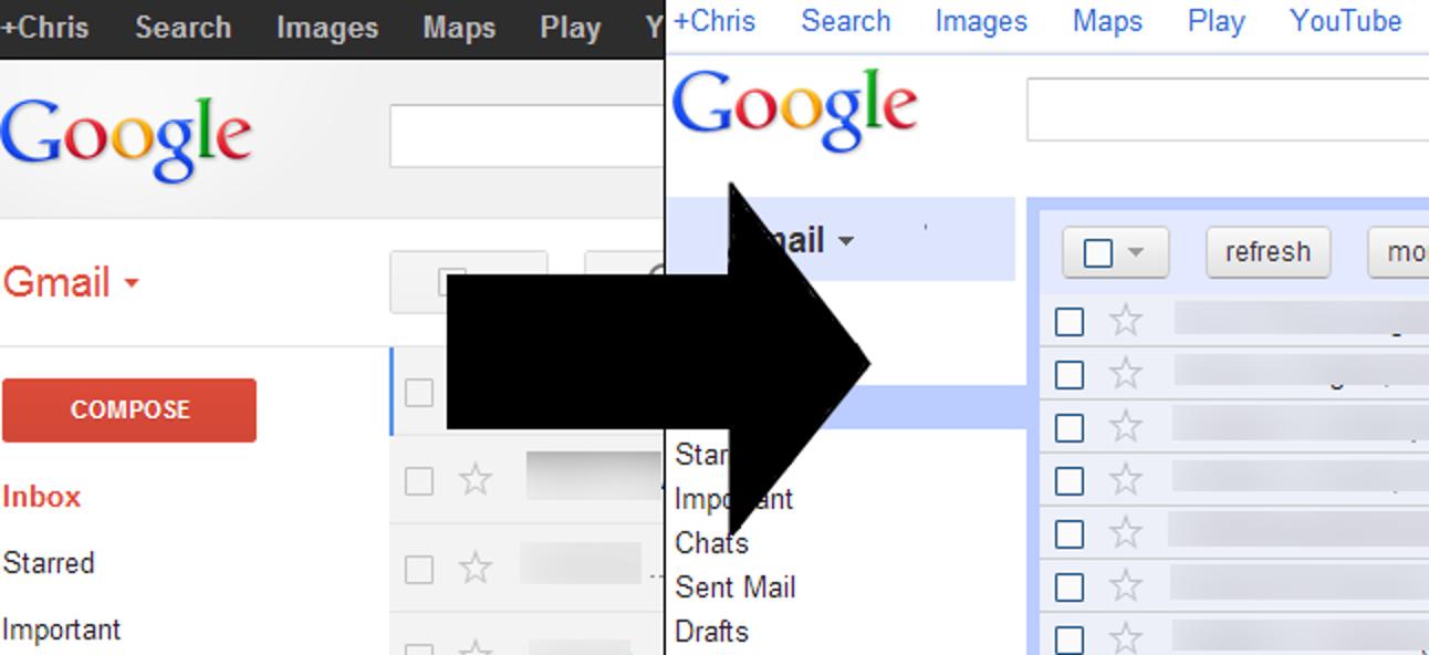 So erhalten Sie den alten Google Mail-Rückblick