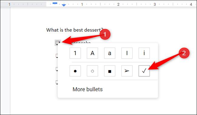 Aktivieren Sie das Kontrollkästchen, indem Sie darauf doppelklicken, mit der rechten Maustaste klicken, um das Kontextmenü zu öffnen, und dann auf das Häkchen klicken.