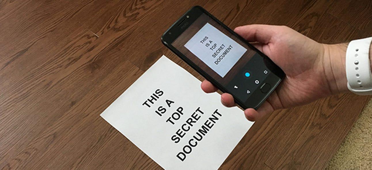 Die besten Möglichkeiten zum Scannen eines Dokuments mit Ihrem Telefon oder Tablet