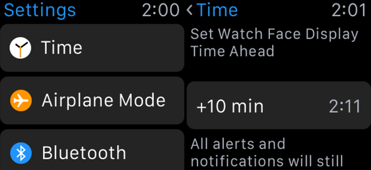 So stellen Sie Ihre Apple Watch einige Minuten schnell ein