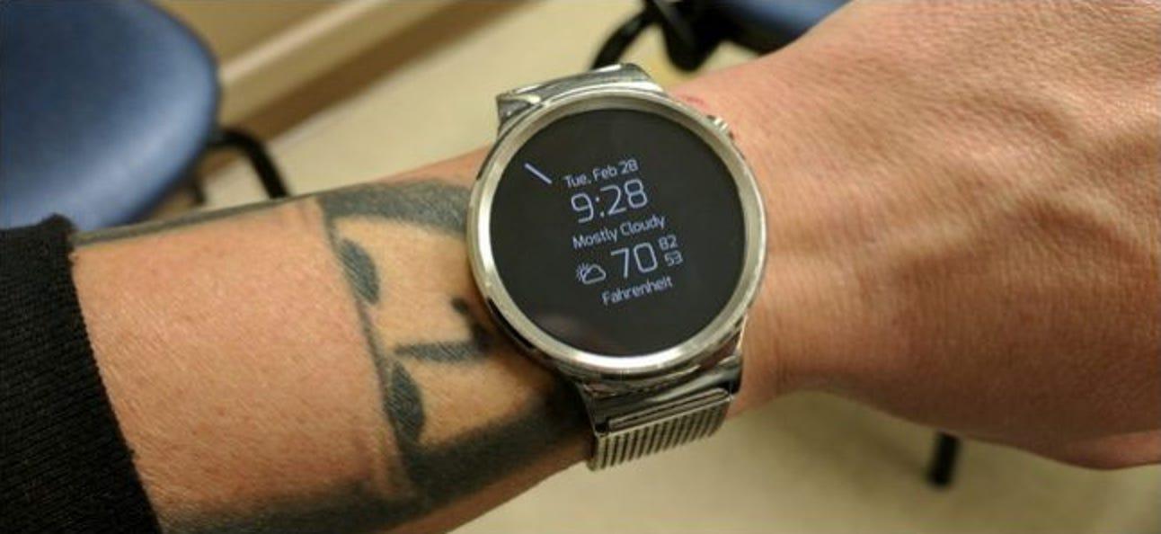 So überprüfen Sie den verbleibenden Speicher Ihrer Android Wear Watch