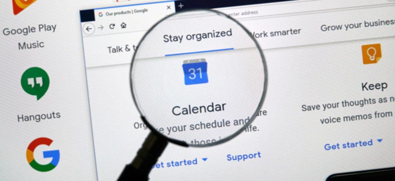 Tastaturkürzel für Google Kalender: Ein Spickzettel