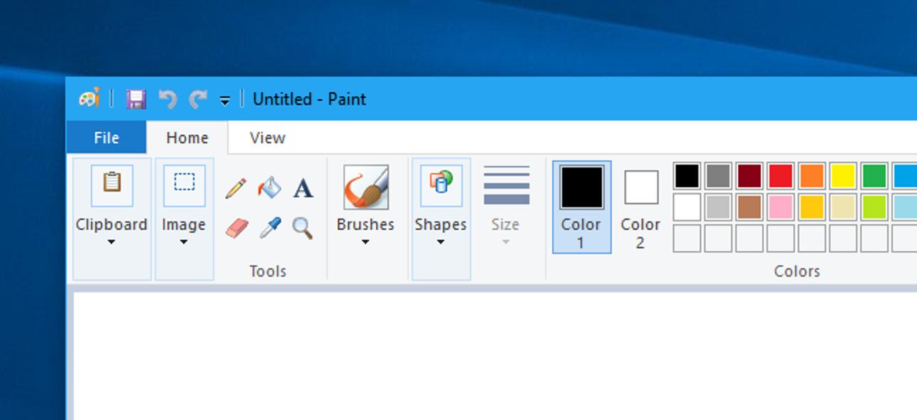 Microsoft hat gerade MS Paint mit neuen Funktionen aktualisiert