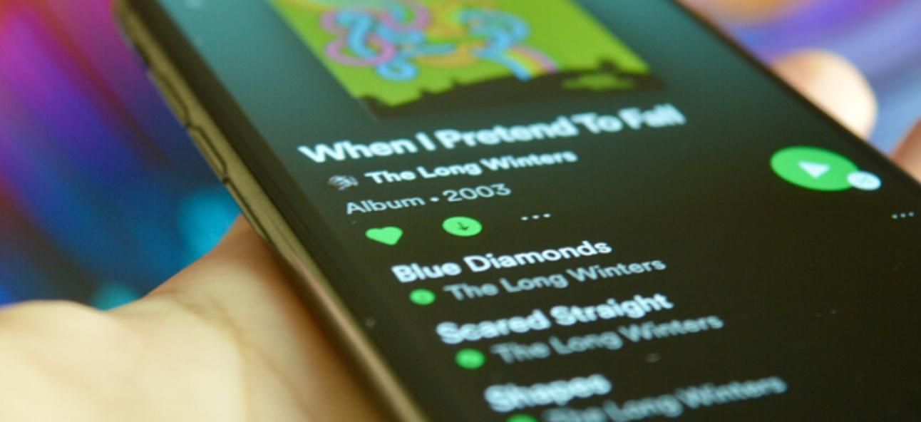 Herunterladen von Musik von Spotify für die Offline-Wiedergabe