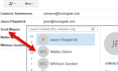 So importieren und exportieren Sie Kontakte zwischen Outlook und Google Mail