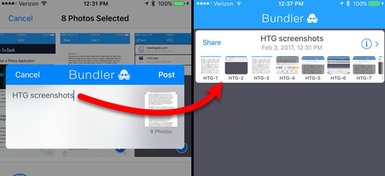 So erstellen Sie mit Bundler ZIP-Dateien auf Ihrem iPhone oder iPad