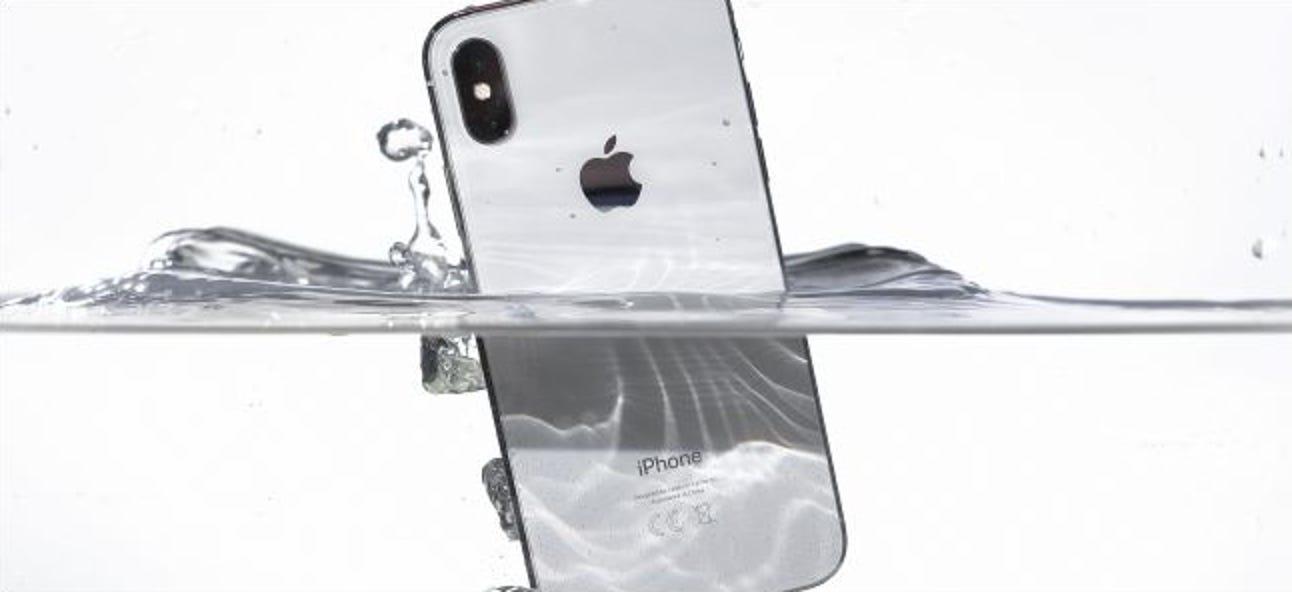 Ist mein iPhone wasserdicht?