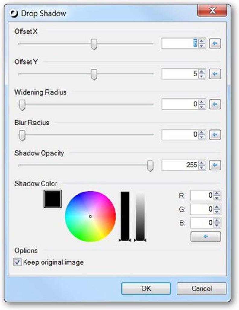 So fügen Sie Paint.NET einen Schlagschatteneffekt hinzu