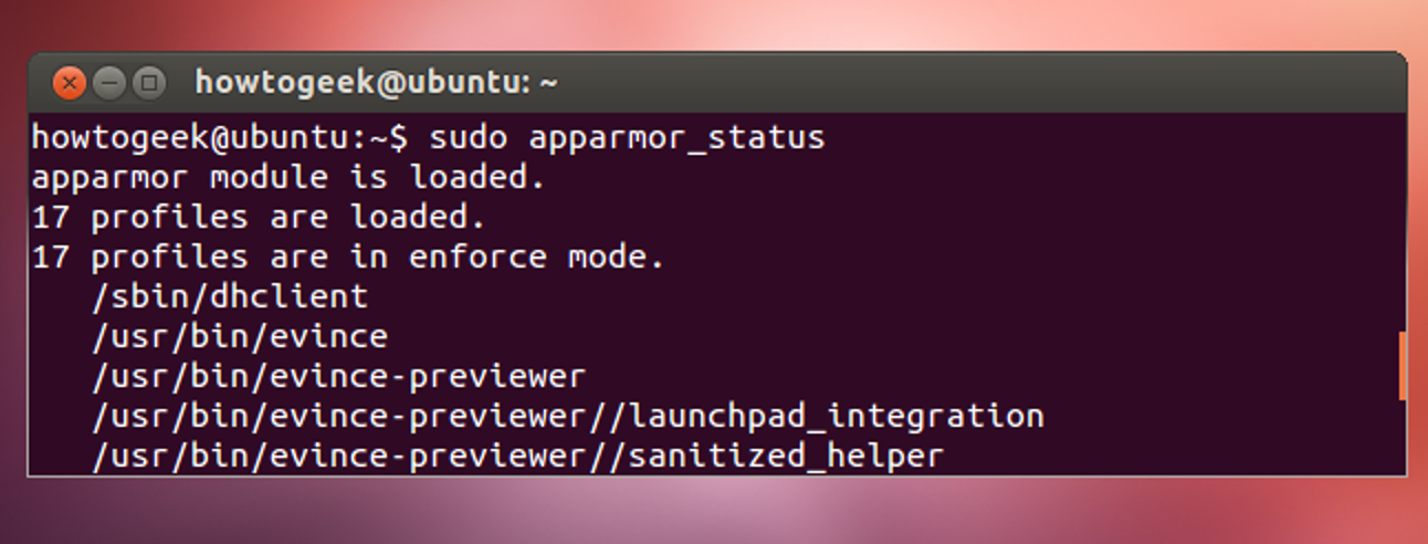 Was ist AppArmor und wie hält es Ubuntu sicher?