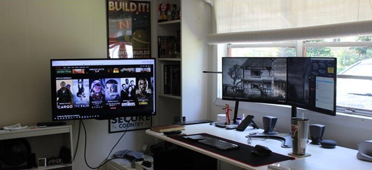 Warum Sie in Betracht ziehen sollten, Ihrem Computer-Setup ein Fernsehgerät hinzuzufügen