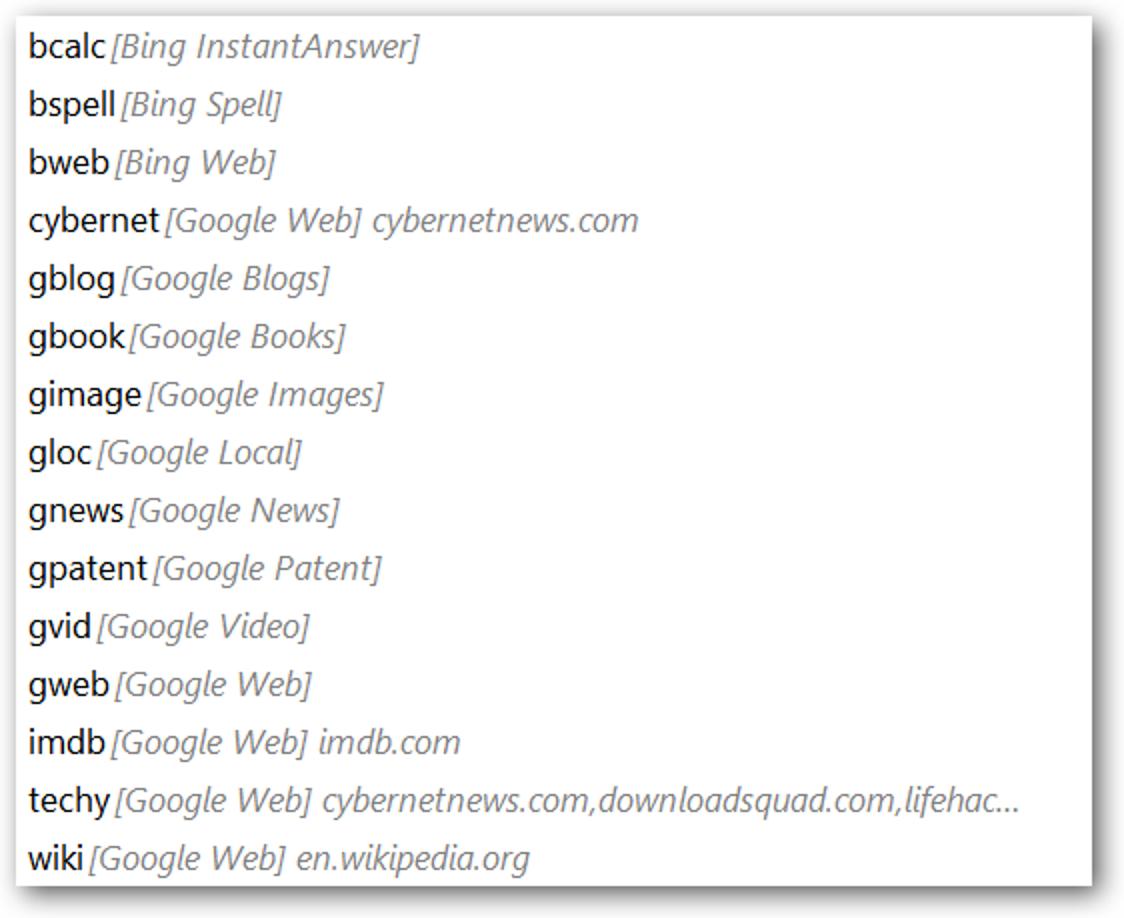 Laden Sie die Adressleiste von Firefox mit CyberSearch auf