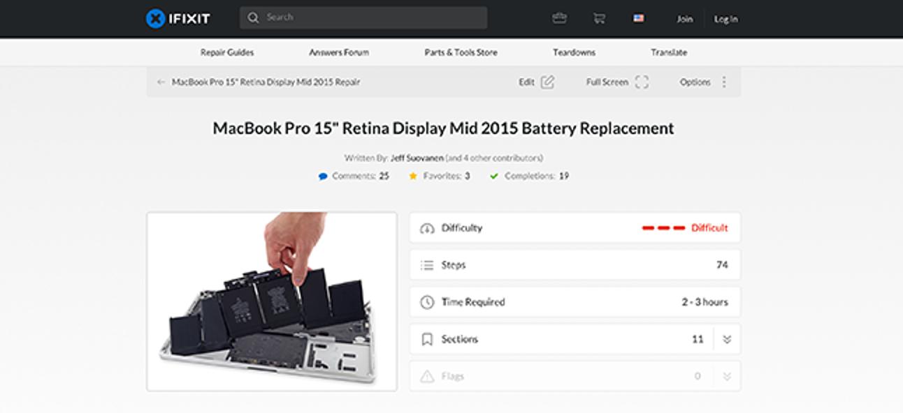 Können Sie den Akku in Ihrem MacBook ersetzen?
