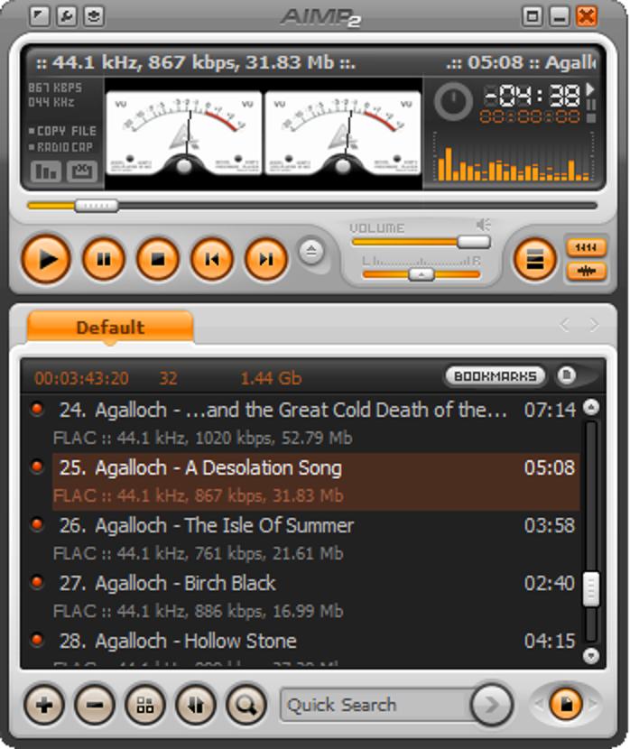 Geek Reviews: Musik-Player AIMP 2