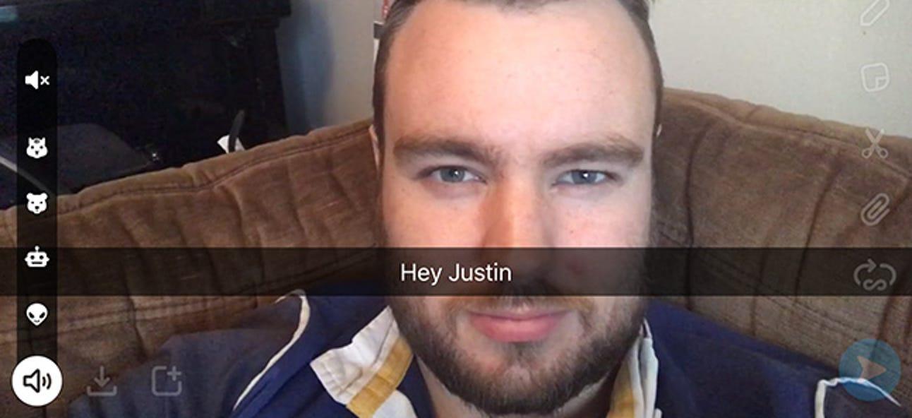 So fügen Sie Ihrem Video in Snapchat einen Sprachfilter hinzu