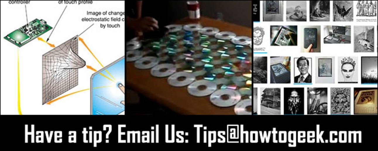 DIY-Stifte, Recycling alter Discs in ein Spiel und Suche auf Flickr nach Kindle-Bildschirmschonern