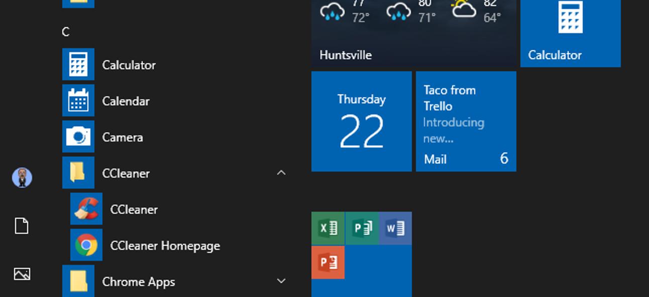 So öffnen Sie den Startmenüordner unter Windows 7 oder 10