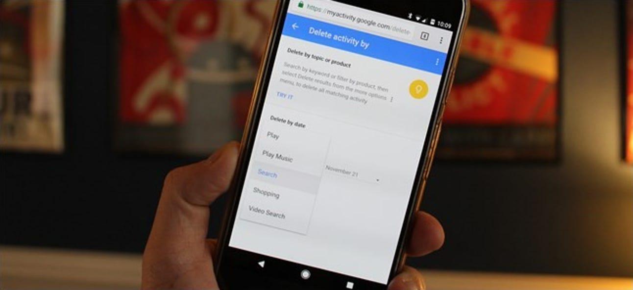 So löschen Sie Ihren Google-Suchverlauf auf Android