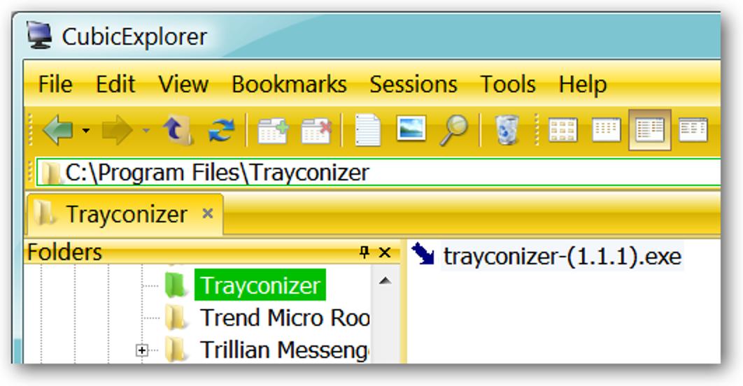 Minimieren Sie Apps in der Taskleiste mit Trayconizer