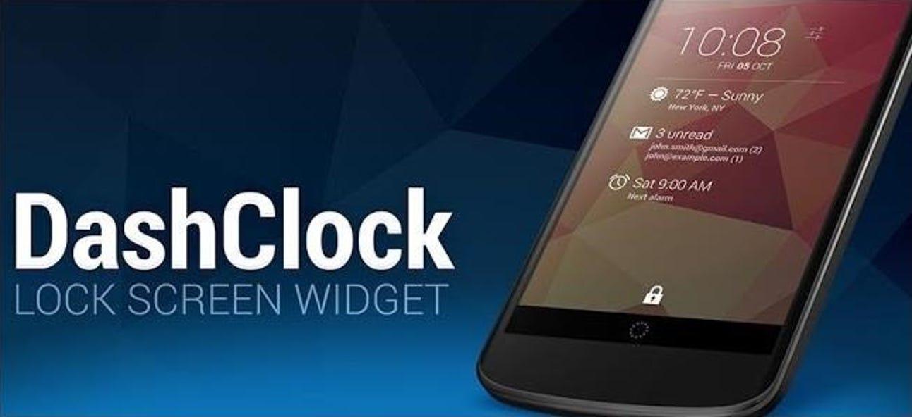 DashClock ist das, was Android-Sperrbildschirm-Widgets sein sollten