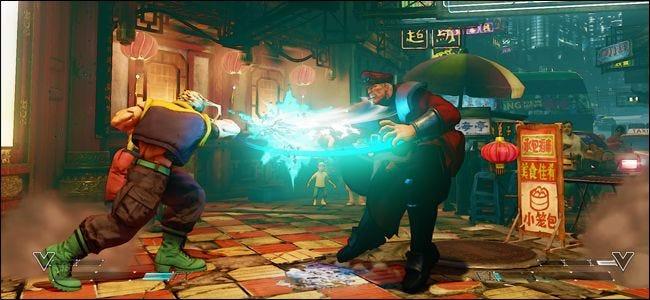 Schnelle Multiplayer-Spiele wie Street Fighter profitieren von geringen Reaktionszeiten.