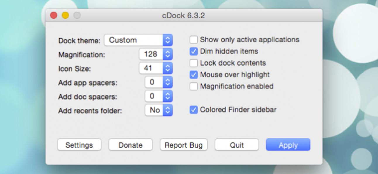 So erstellen Sie benutzerdefinierte Dock-Designs in OS X.