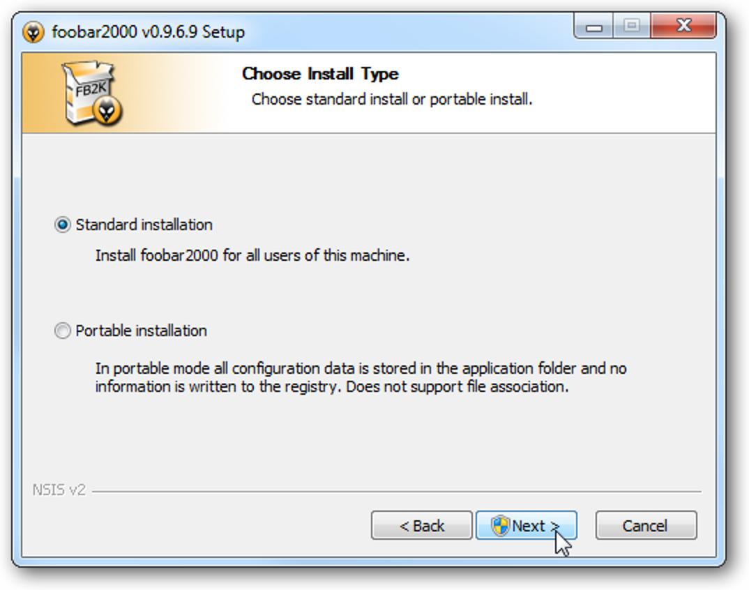 Foobar2000 ist ein vollständig anpassbarer Musik-Player