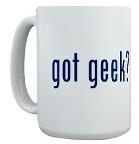Hast du einen Geek?  Becher
