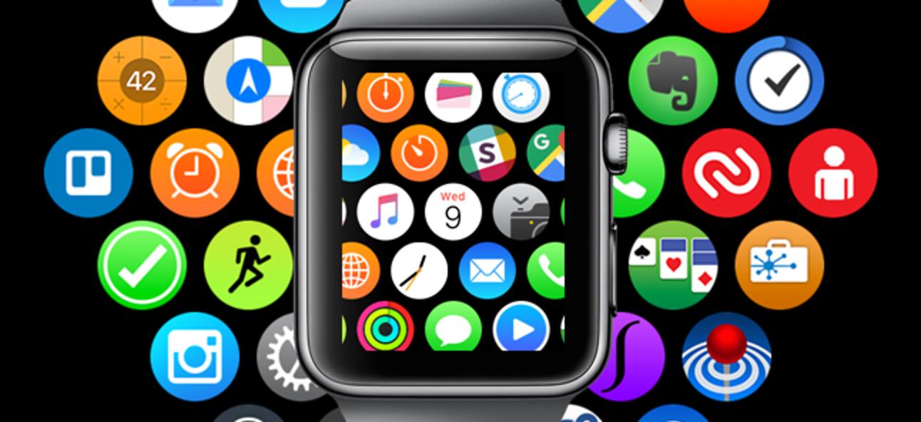 So ordnen Sie die App-Symbole auf der Apple Watch neu an