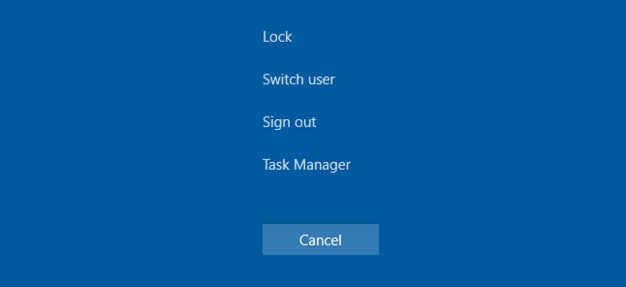 So deaktivieren Sie die Lock Workstation-Funktionalität (Fenster + L) in Windows