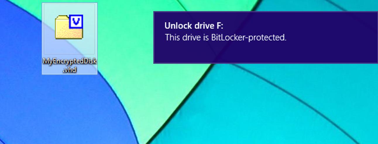 So erstellen Sie eine verschlüsselte Containerdatei mit BitLocker unter Windows