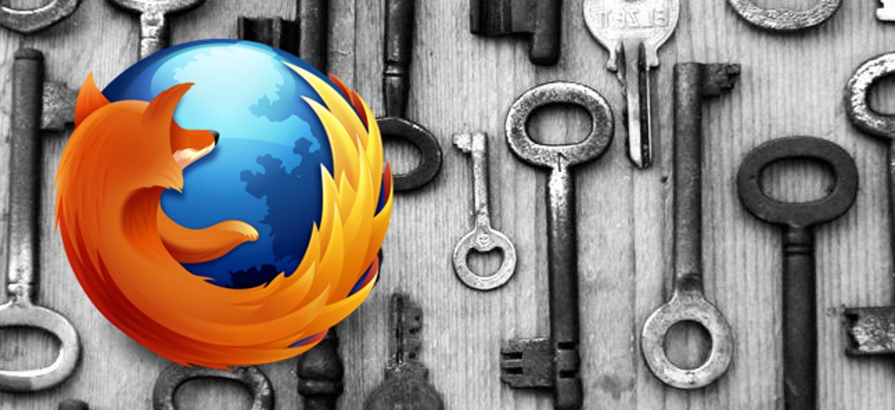 Anzeigen und Löschen gespeicherter Passwörter in Firefox