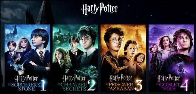 Harry Potter Filme auf HBO Max