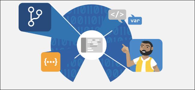 Ein Ingenieur vor Binär- und Browsercode
