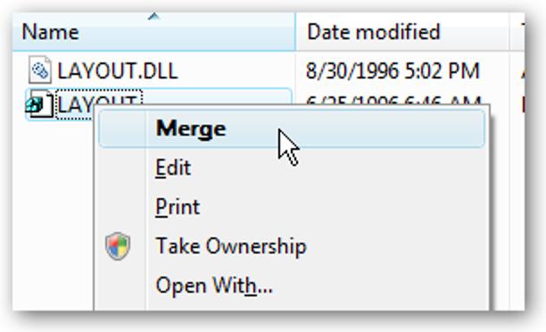 Speichern und Wiederherstellen des Desktop-Symbol-Layouts in Windows Vista