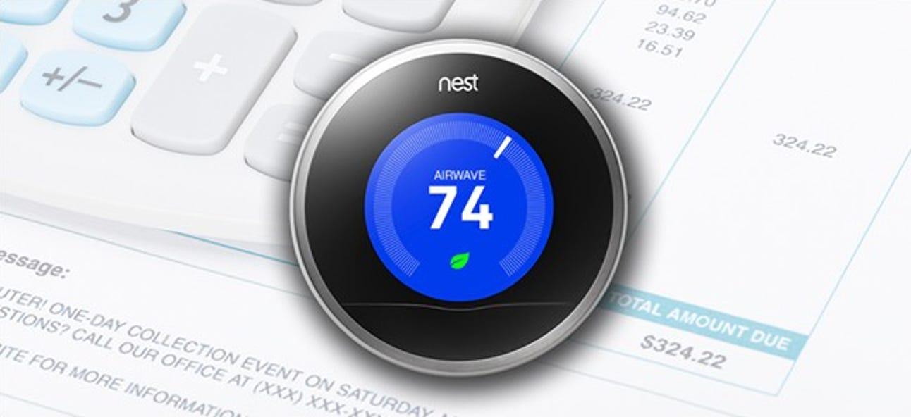 Fünf Einstellungen für Nest-Thermostat-Einstellungen, mit denen Sie Geld sparen können