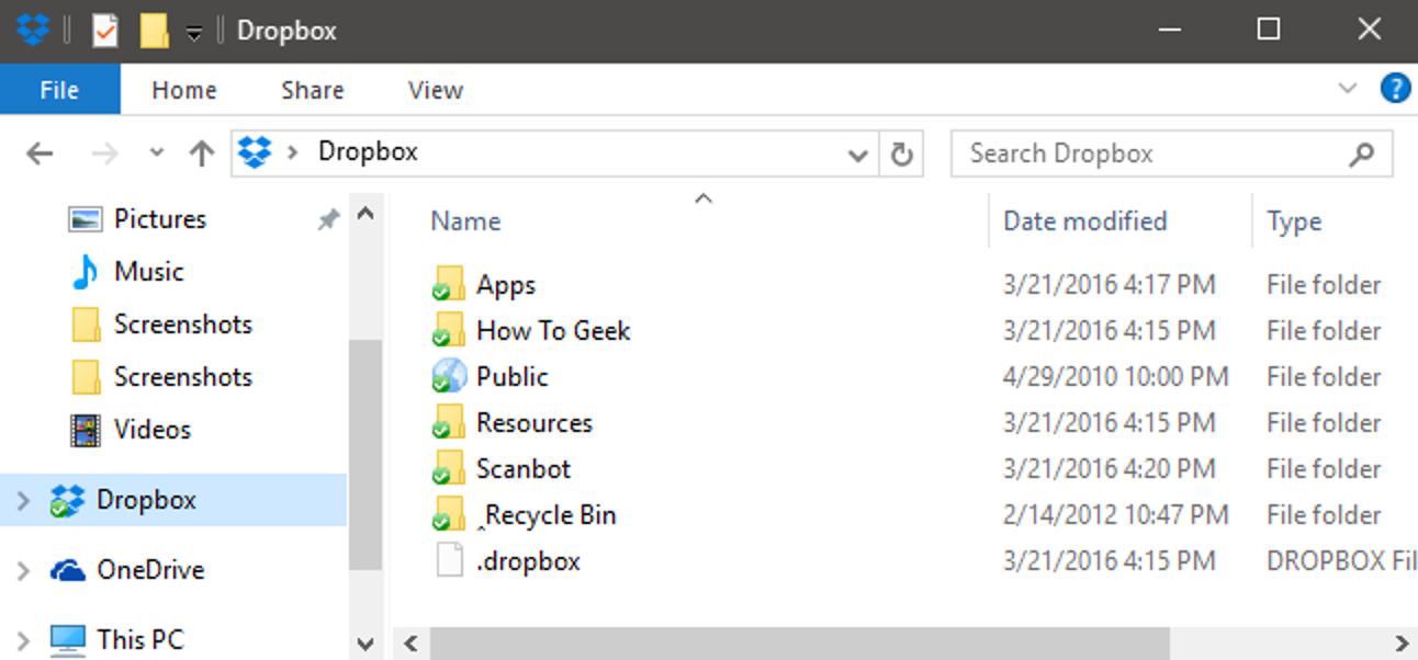 So ändern Sie den Speicherort Ihres Dropbox-Ordners