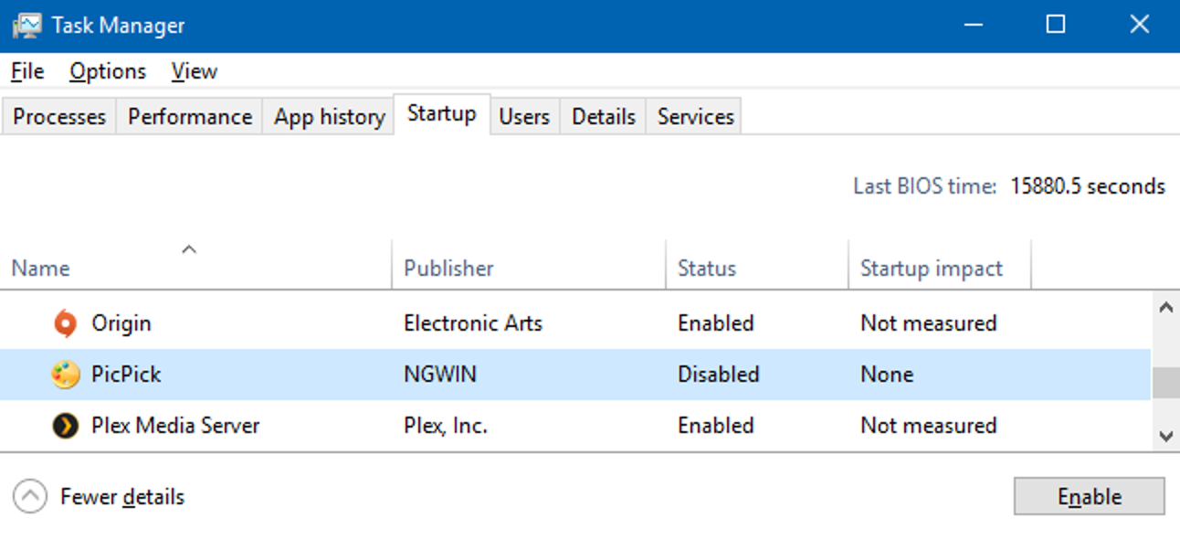 So verwalten Sie Startanwendungen in Windows 8 oder 10