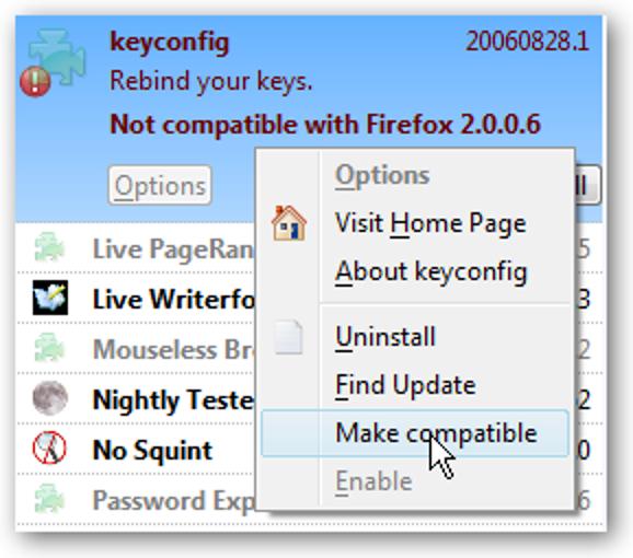 Machen Sie Firefox-Erweiterungen kompatibel, nachdem das Firefox-Update sie ohne guten Grund beschädigt hat