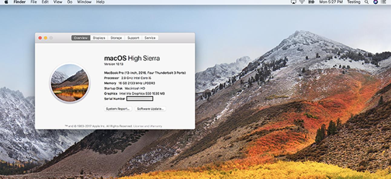 So aktualisieren Sie Ihren Mac auf High Sierra