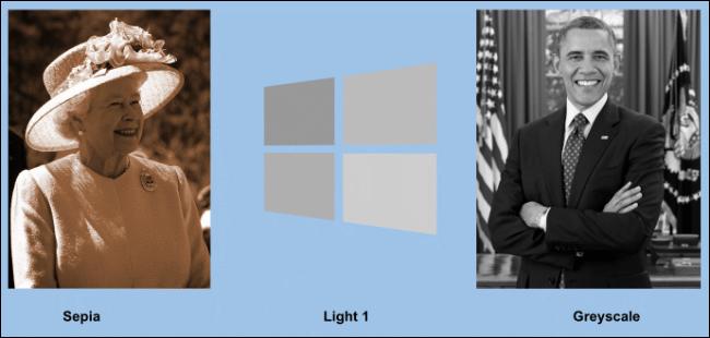 Ein Beispiel für neu eingefärbte Bilder in Google Slides