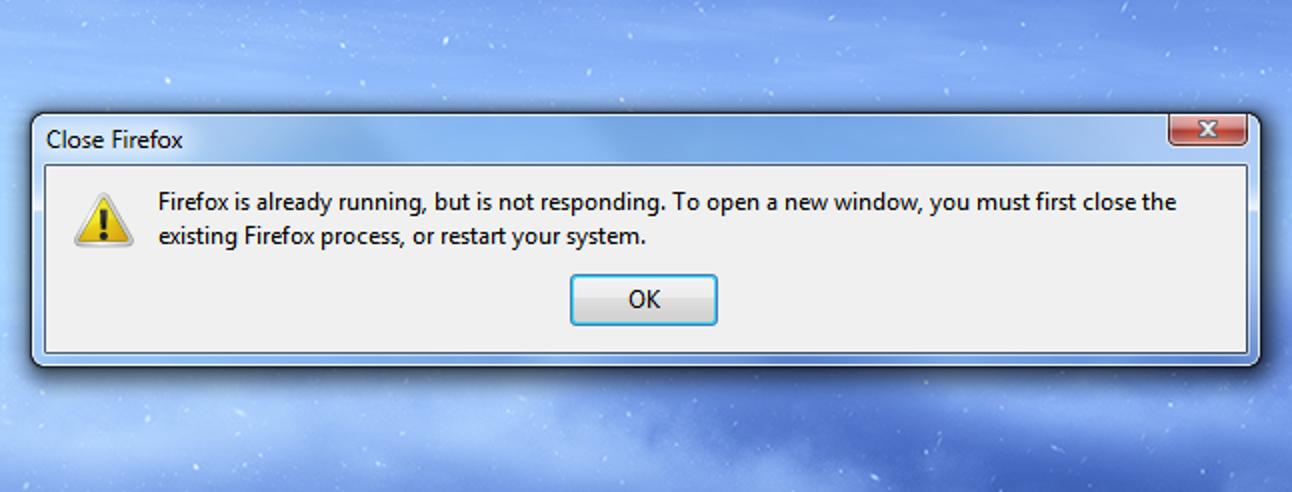 """So beheben Sie den Fehler """"Firefox läuft bereits"""""""