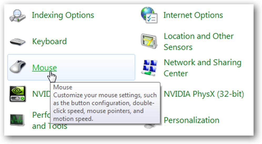 Machen Sie die Mausnavigation in Windows schneller