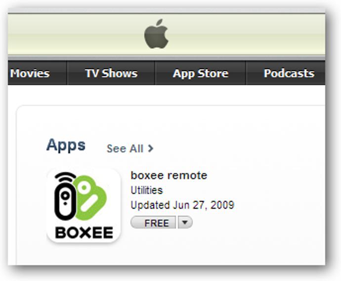 Verwenden Sie Ihr iPhone oder Ihren iPod Touch als Boxee-Fernbedienung