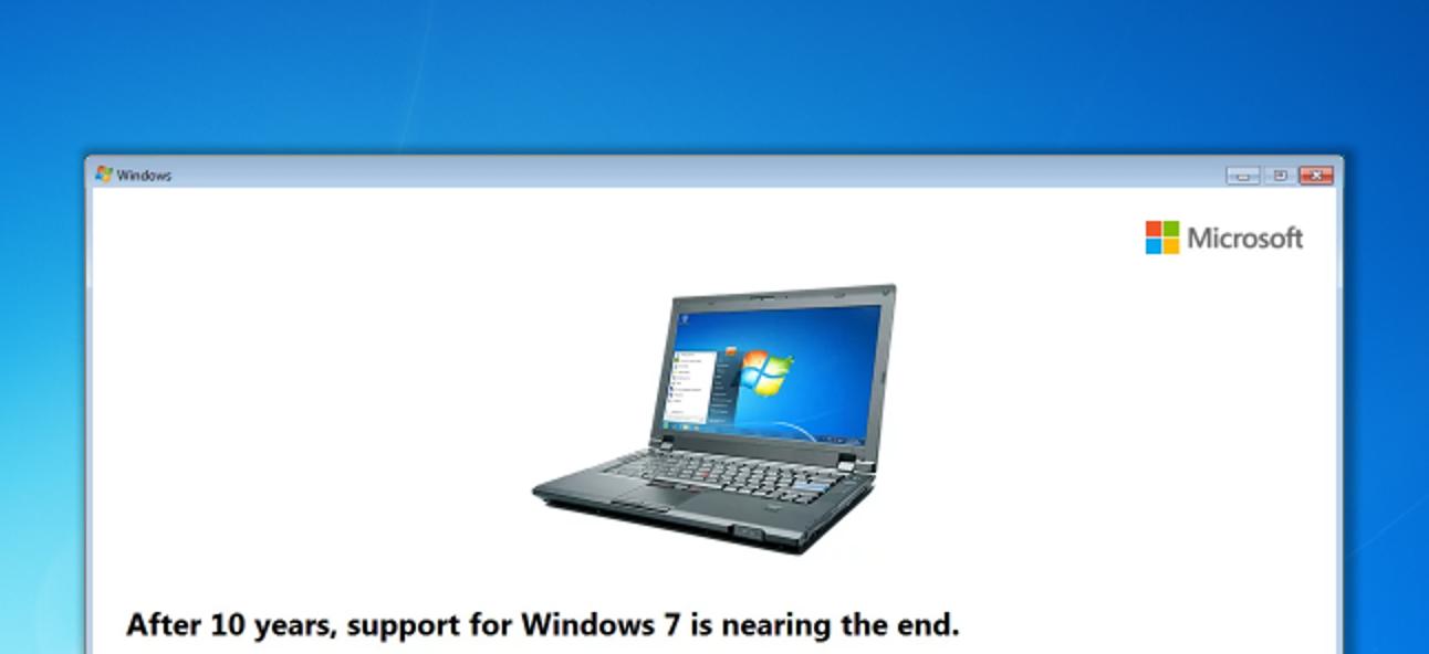 So vermeiden Sie die End-of-Support-Probleme von Windows 7