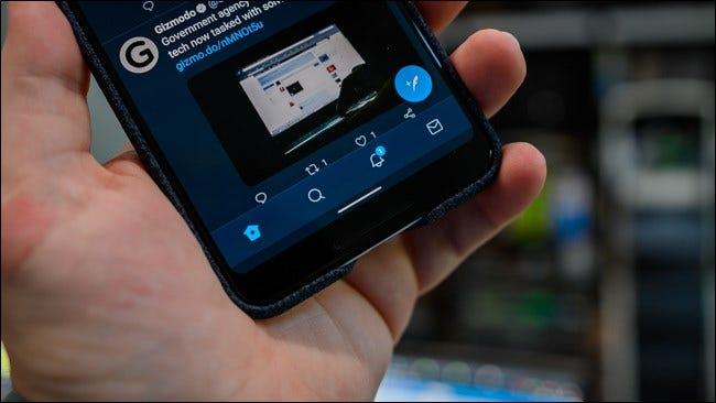 Android 10 Gesten-Navigationsleiste