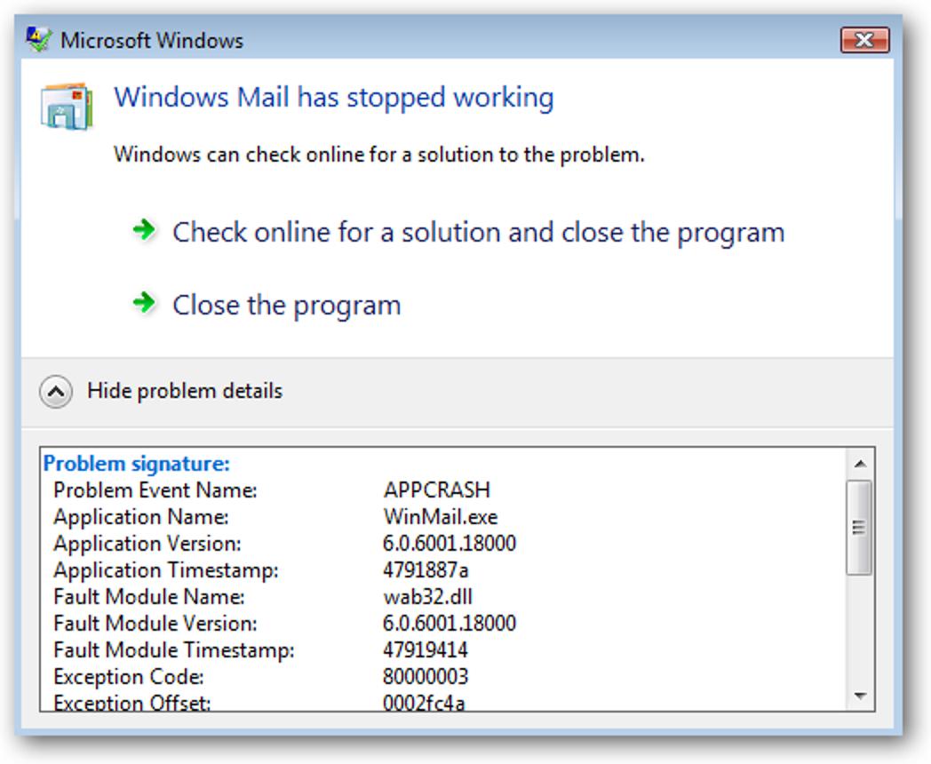 """Deaktivieren Sie das Dialogfeld """"Online nach einer Lösung suchen"""" (Fehlerberichterstattung) in XP, Vista und Windows 7"""