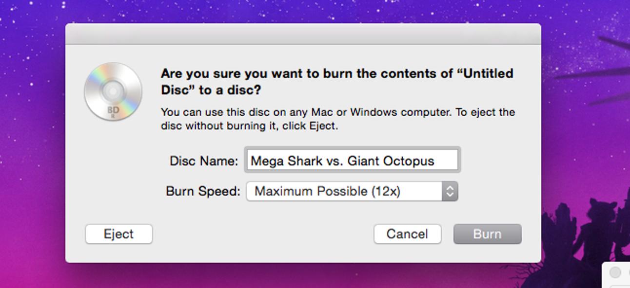 So brennen Sie eine Videodatei auf eine abspielbare Blu-Ray-Disc