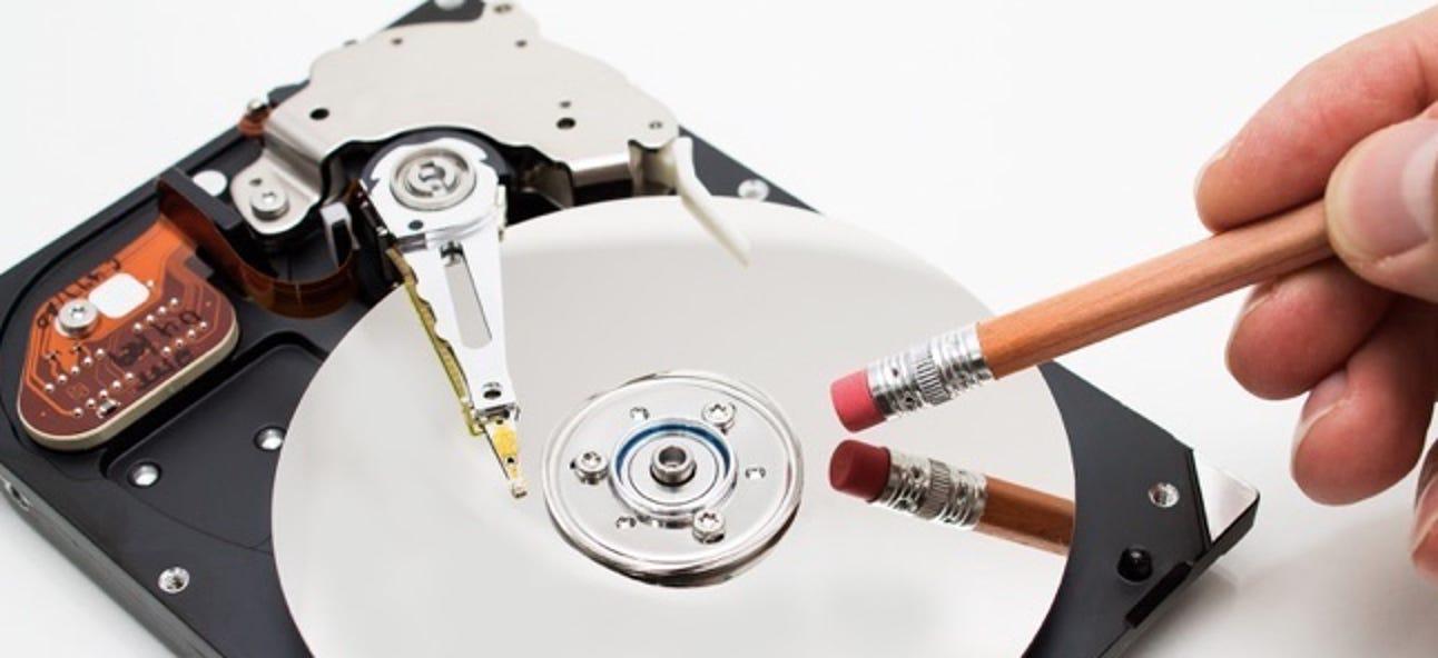 """Warum Sie eine Datei nicht """"sicher löschen"""" können und was stattdessen zu tun ist"""