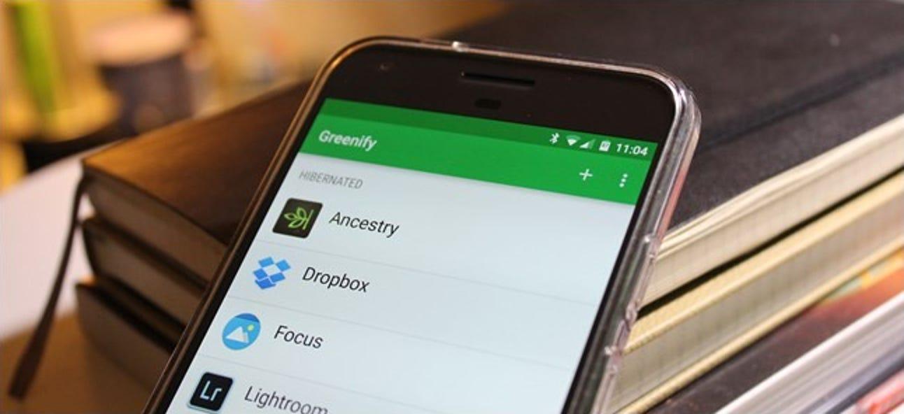 So optimieren Sie die Akkulaufzeit Ihres Android-Telefons mit Greenify