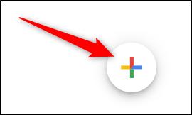 Platzieren Sie den Cursor auf dem mehrfarbigen Pluszeichen (+).